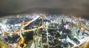 Bangkok night Royalty Free Stock Image