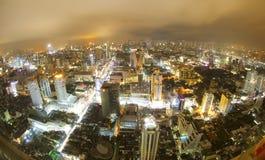 Bangkok night Royalty Free Stock Photos