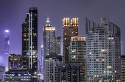 Bangkok night Royalty Free Stock Photo