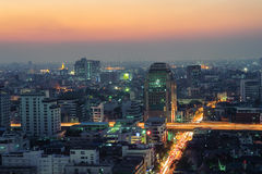 Bangkok Night Royalty Free Stock Photography