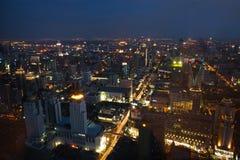Bangkok by night Stock Photography