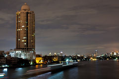 Bangkok night. Bangkok, capital city of thailand at night royalty free stock photos