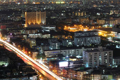 Bangkok night, Bangkok Thailand Royalty Free Stock Photo
