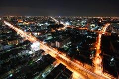 Bangkok night, Bangkok Thailand Stock Image