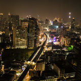 Bangkok by night Stock Image