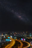 Bangkok at night Royalty Free Stock Photo