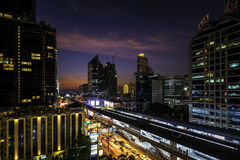 Bangkok night life Stock Images