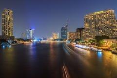 Bangkok at night Stock Photography