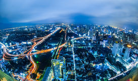 Bangkok night Scenes Stock Images