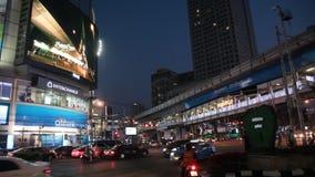 Bangkok night stock footage