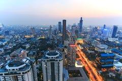Bangkok by night Royalty Free Stock Photos
