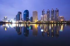 Bangkok Night time Stock Photo