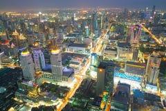 Bangkok at night or Twilight. Stock Photography