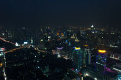 Bangkok night view Royalty Free Stock Photography