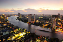 Bangkok nightlife Stock Photos