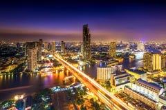 bangkok noc Fotografia Stock