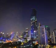 bangkok noc Thailand widok Zdjęcie Stock