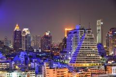 bangkok noc Thailand widok Obraz Stock