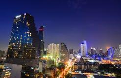 bangkok noc Thailand widok Fotografia Stock