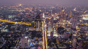 Bangkok nocy wycieczka Obrazy Stock