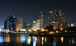 Bangkok nocy życie Zdjęcie Stock