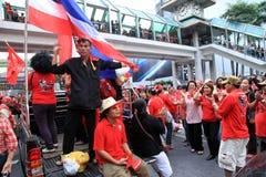BANGKOK - NOV 19: Red Shirts Protest Royalty Free Stock Photography