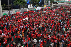 BANGKOK - NOV 19: Red Shirts Protest - Thailand Stock Photo