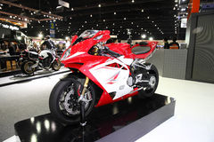 BANGKOK - November 28: Agusta F4 motorcycle on display at The Mo Royalty Free Stock Photography