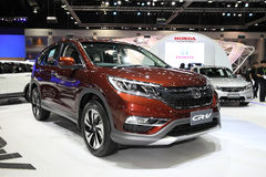 BANGKOK - November 28: Honda CR-V car on display at The Motor Ex Royalty Free Stock Photo
