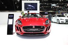 BANGKOK - November 28:Jaguar F-Type car on display at The Motor Stock Image