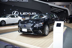 BANGKOK - November 30: Lexus Ls 600h car on display at Motor Exp Stock Images