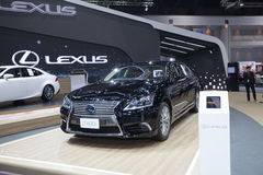 BANGKOK - November 30: Lexus LS 600h car on display at Motor Exp Royalty Free Stock Image