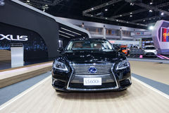 BANGKOK - November 30: Lexus LS 600h car on display at Motor Exp Royalty Free Stock Photo