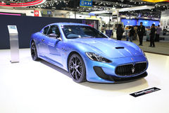 BANGKOK - November 28: Maserati car on display at The Motor Expo Royalty Free Stock Photo