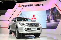 BANGKOK - November 28: Mitsubishi All Ner Triton car on display Royalty Free Stock Photo