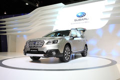 BANGKOK - November 28: Subaru outback car on display at The Moto Stock Images