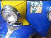 Tuk tuk detail bangkok thailand Royalty Free Stock Images