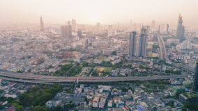 Bangkok odgórny widok Obraz Stock