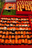 Bangkok Outdoor Sushi Stand Stock Photos