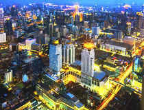 Bangkok overview Royalty Free Stock Image