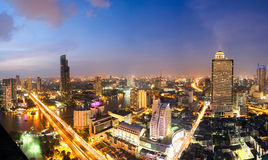 Bangkok overview Royalty Free Stock Images