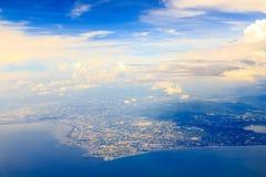 Bangkok på över Royaltyfria Bilder