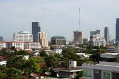 Bangkok på höjdpunkt Arkivbild