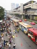 Transport publiczny Bangkok Thailand fotografia stock