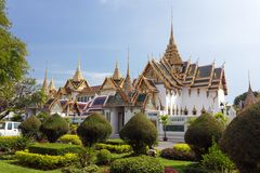 Bangkok pałac królewski Fotografia Royalty Free