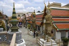 Bangkok Palace 4. The Grand Palace complex in Bangkok,Thailand Stock Images