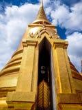 Bangkok palace temple. With the cloud above Stock Photos