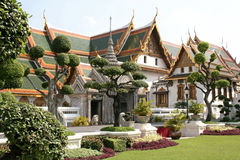 Bangkok, Palaces of the King Stock Images