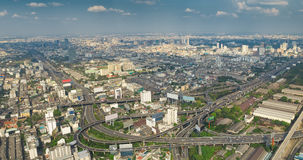 Bangkok panorama Stock Photography