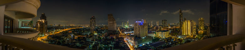 Bangkok panorama Royaltyfri Bild